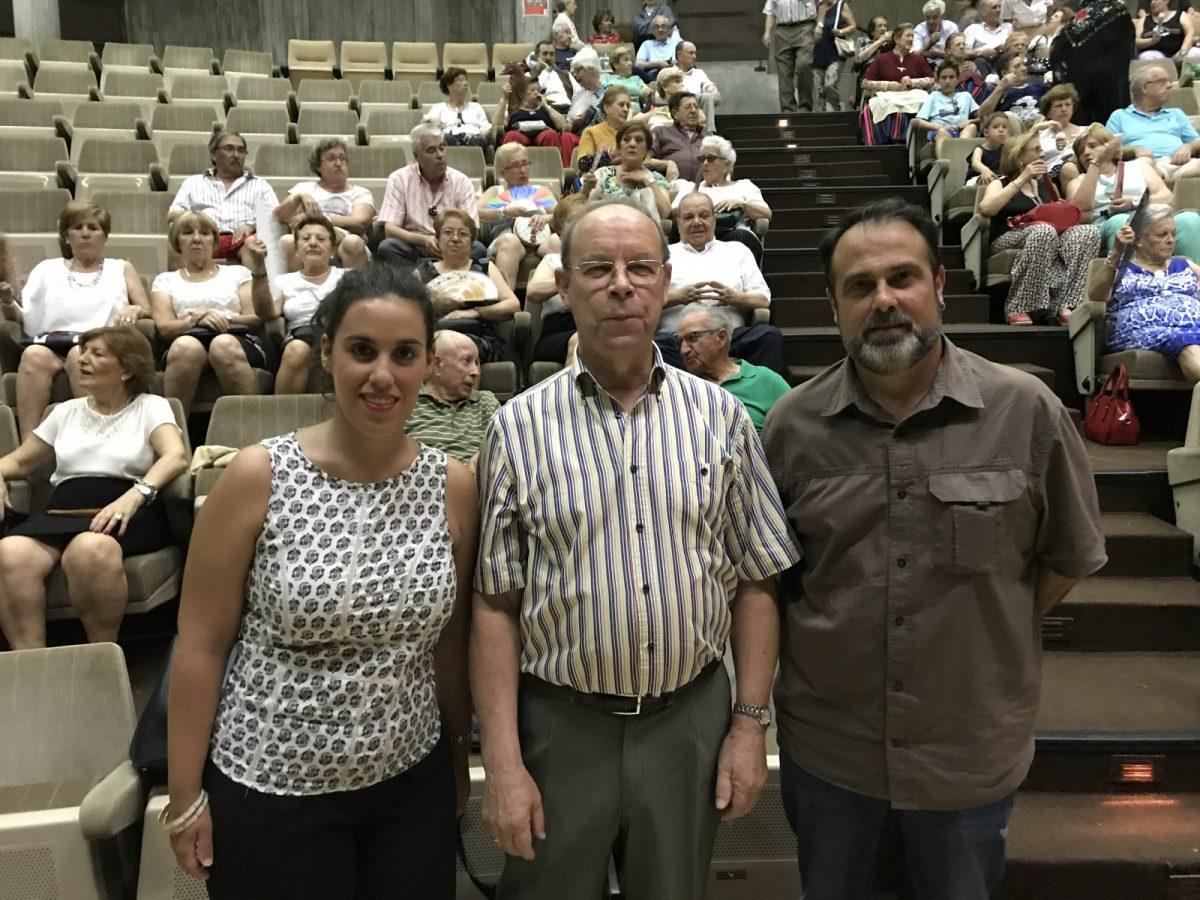 El Gobierno local asiste a las actuaciones de fin de cuatrimestre del Centro Municipal de Mayores 'Santa María de Benquerencia'
