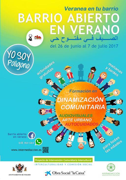 ESCUELA ABIERTA DE VERANO. PROYECTO INTERVENCIÓN COMUNITARIA INTERCULTURAL.