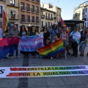 La lectura del manifiesto con motivo del Día del Orgullo LGTBI pone fin a las actividades del X Toledo Entiende