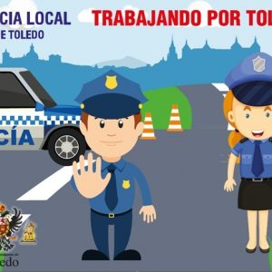Policía Local y Bomberos participan este viernes en la fiesta infantil de 'Los Maruchines' del Hospital 'Virgen de la Salud'
