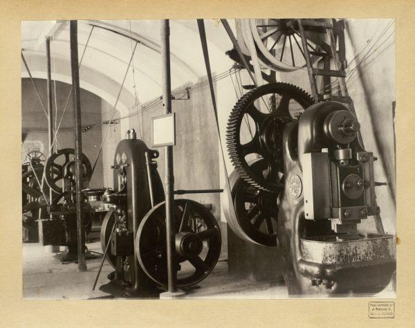 30 - Máquinas de acuñación de la Real Casa de la Moneda