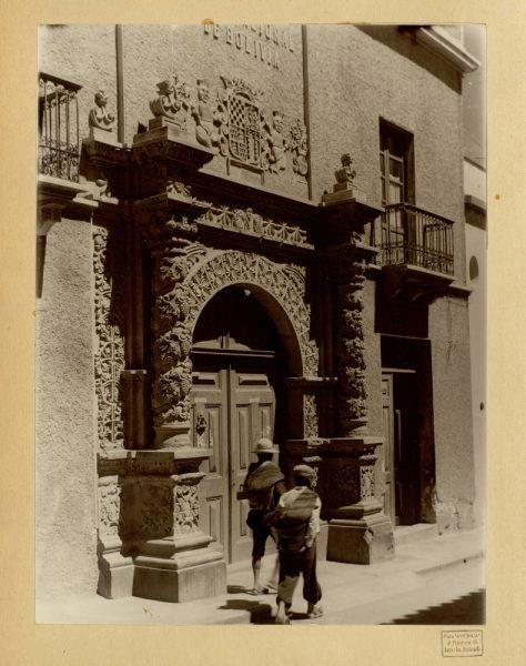 31 - Portada el Banco Nacional de Bolivia