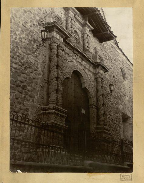 47 - Portada de la iglesia de San Francisco