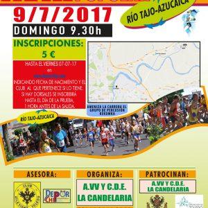 Aplazan la Carrera Río Tajo-Azucaica, que iba a celebrarse este domingo, debido al fallecimiento de un miembro de la organización