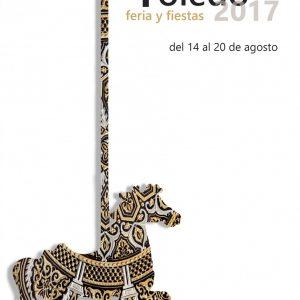 """""""Carrusel Damasquinado"""" será el cartel anunciador de la Feria y Fiestas de Agosto 2017 de Toledo"""