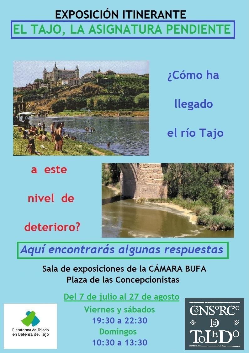 """Exposición Itinerante """"El Tajo, la asignatura pendiente"""""""