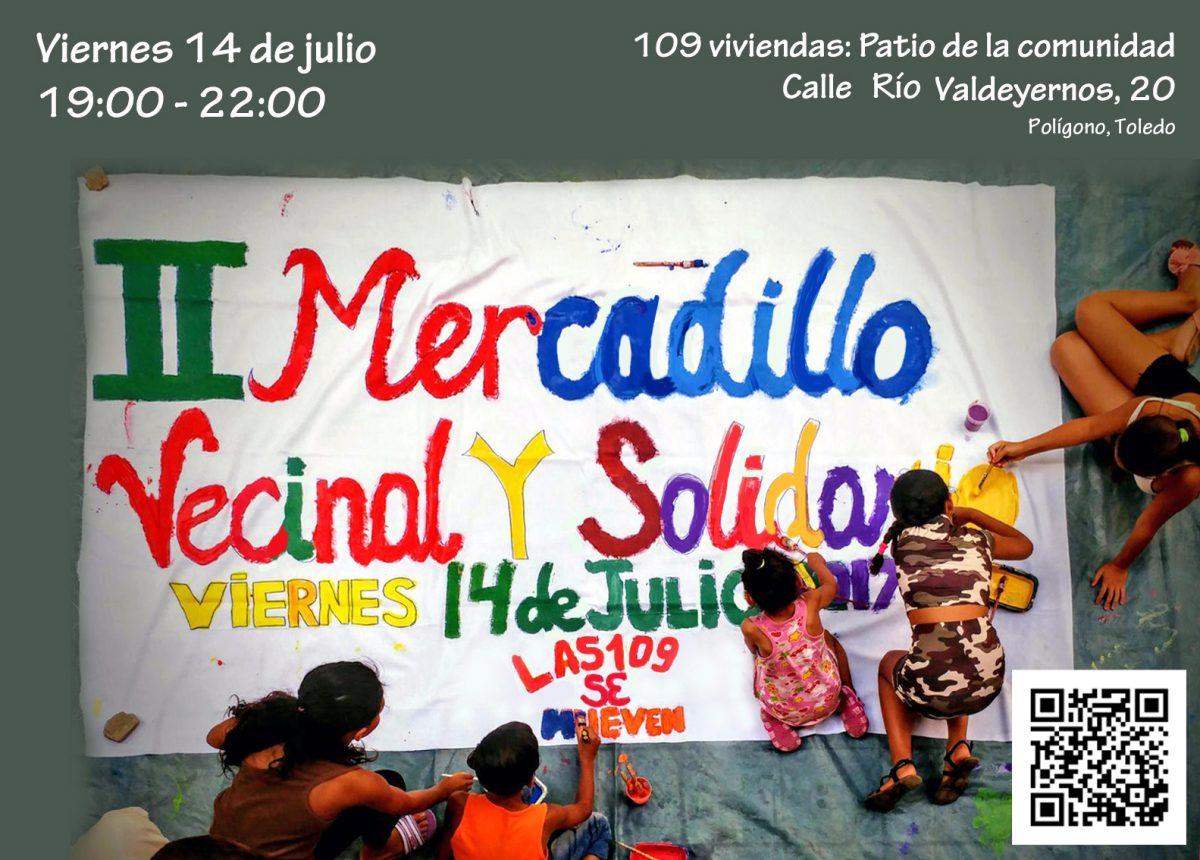 """II Mercadillo Vecinal y Solidario """"Las 109 se mueven"""""""