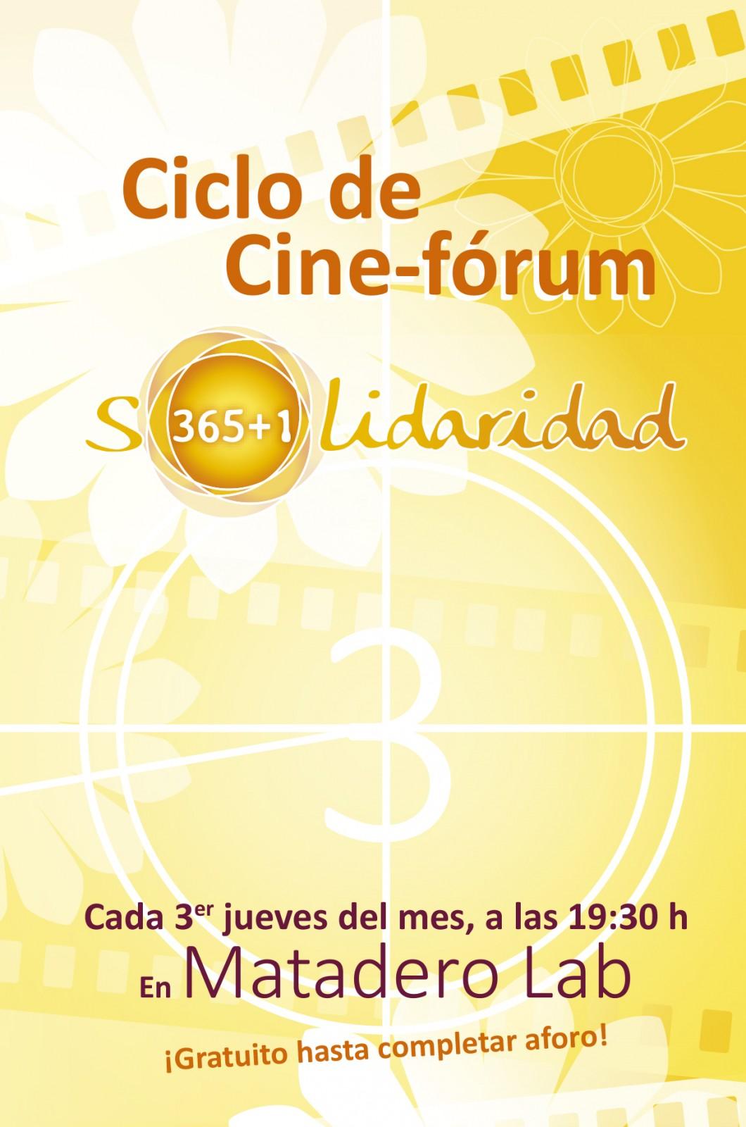 Ciclo Cine Solidaridad 365+1_díptico