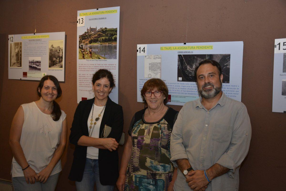 El Ayuntamiento respalda la muestra 'El Tajo, la asignatura pendiente' que acoge la Cámara Bufa hasta el 27 de agosto