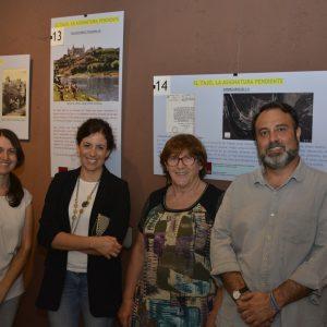 l Ayuntamiento respalda la muestra 'El Tajo, la asignatura pendiente' que acoge la Cámara Bufa hasta el 27 de agosto