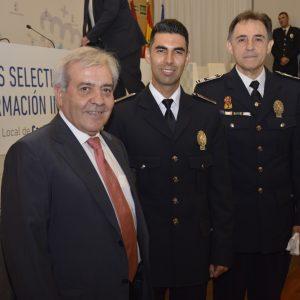 Respaldo del Ayuntamiento a la Policía Local en la clausura de los Cursos Selectivos de Formación Inicial para agentes locales de Castilla-La Mancha