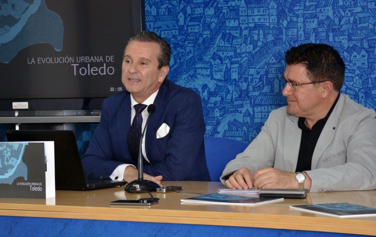 """https://www.toledo.es/wp-content/uploads/2017/07/evolucuion_urbana_toledo-1200x756.jpg. """"La evolución urbana de Toledo"""", presentado hoy, repasa la configuración y los diferentes planeamientos de la ciudad"""