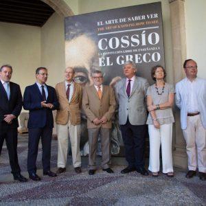 El Ayuntamiento colabora en la exposición de Cossío y la Institución Libre de Enseñanza inaugurada hoy en el Santa Cruz