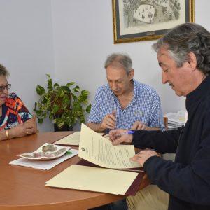 El Ayuntamiento cede a la Junta Pro-Corpus un espacio en el Centro Cultural Cisneros para ubicar su sede