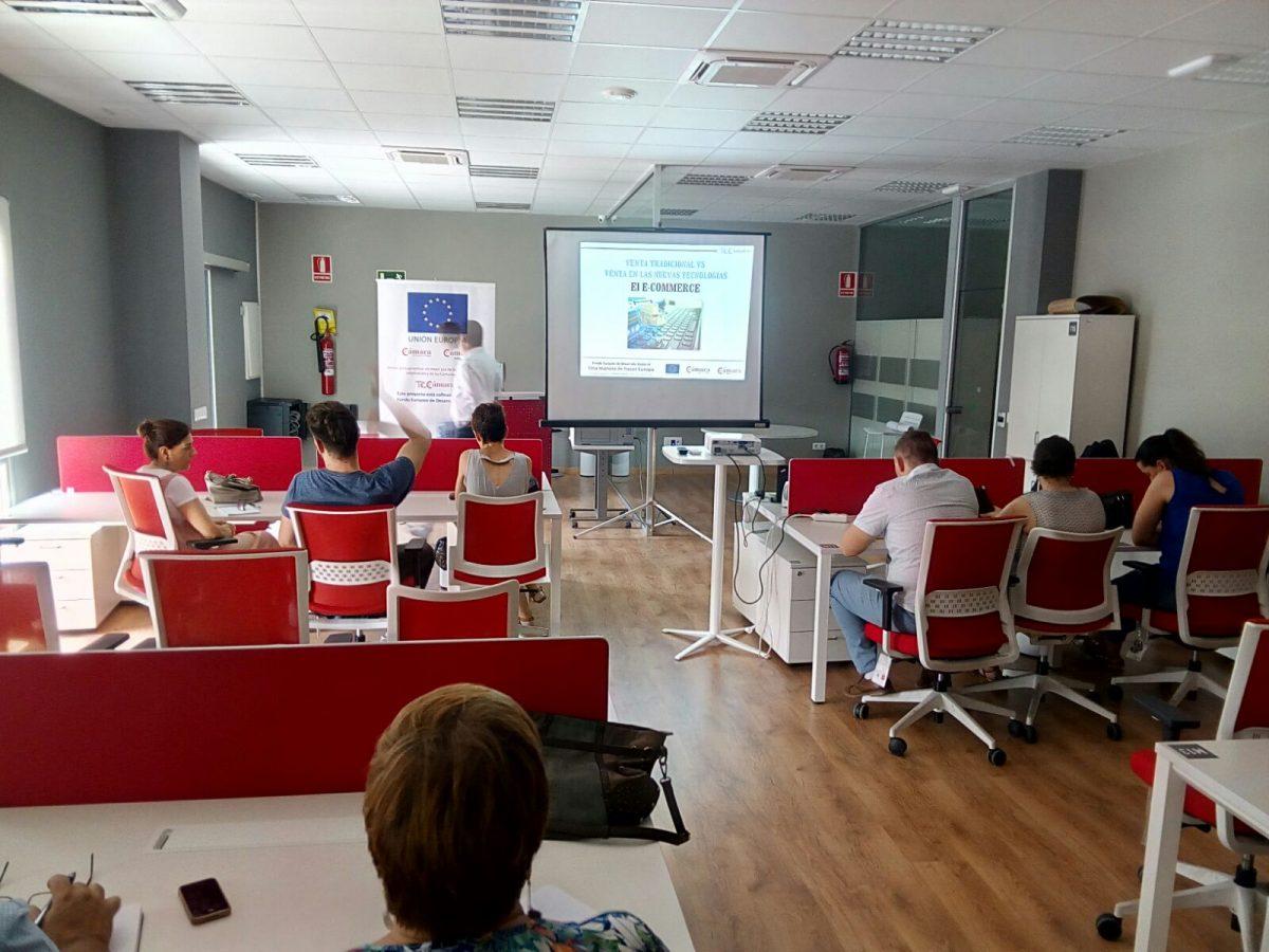 Gran éxito en el Curso  Venta tradicional VS Venta en Nuevas tecnologías. el E-Commerce