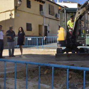 El Consistorio inicia las obras de recuperación de un espacio público en el barrio de Covachuelas-Antequeruela