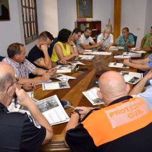 El equipo de Gobierno mantiene una reunión de coordinación para el desarrollo de las actividades festivas de la Feria de Agosto