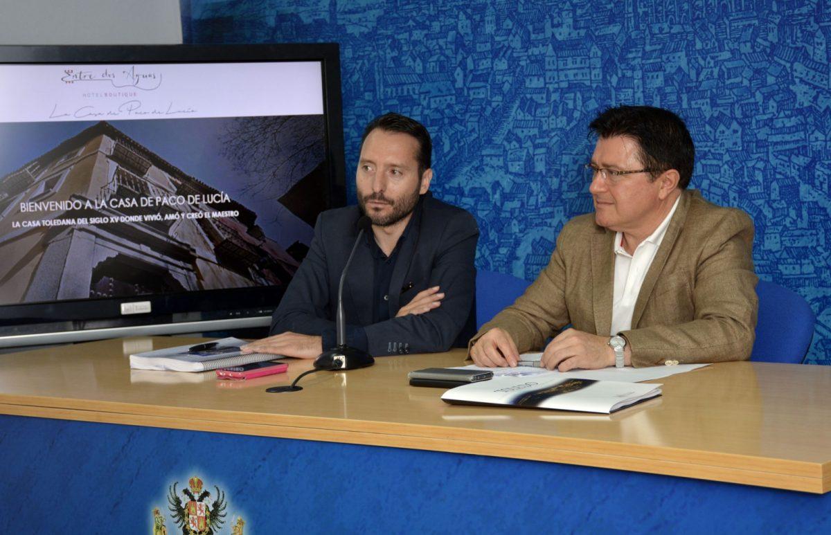 Una nueva iniciativa empresarial convertirá la casa de Paco de Lucía en el Casco en un hotel de cinco habitaciones