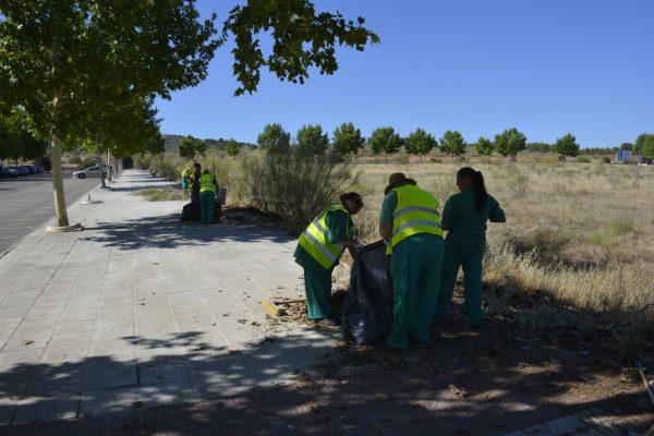 Trabajos parcela Río Cabriel