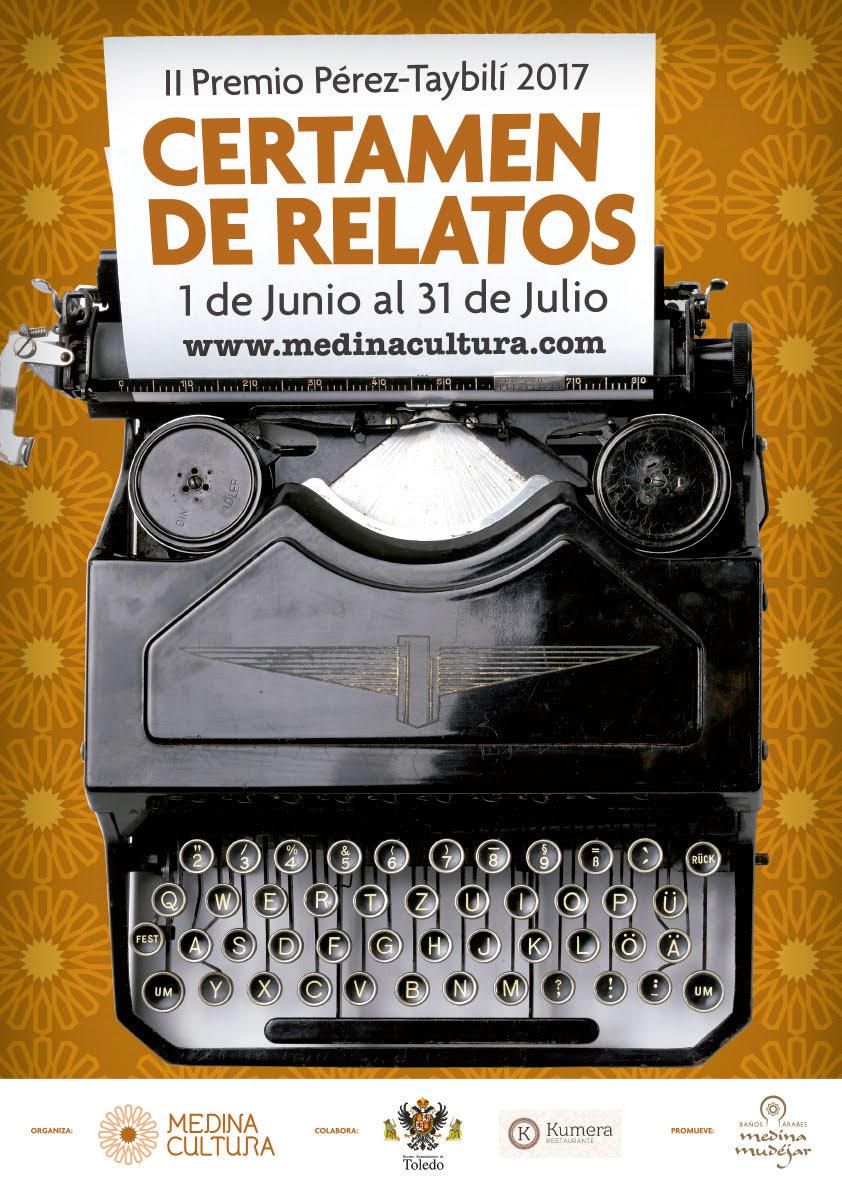 http://www.toledo.es/wp-content/uploads/2017/07/unnamed.jpg. Hasta el 30 de julio se pueden presentar trabajos al II Premio Pérez-Taybilí de Relato convocado por Medina Cultura y el Ayuntamiento