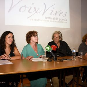 La V edición de Voix Vives se celebrará del 1 al 3 de septiembre con Paco Ibáñez como padrino y la actuación de Carmen Linares