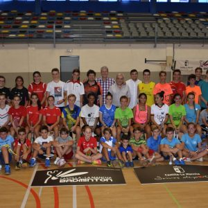 Toledo acoge una nueva edición del Clínic de Bádminton de Castilla-La Mancha con la presencia del olímpico Pablo Abián