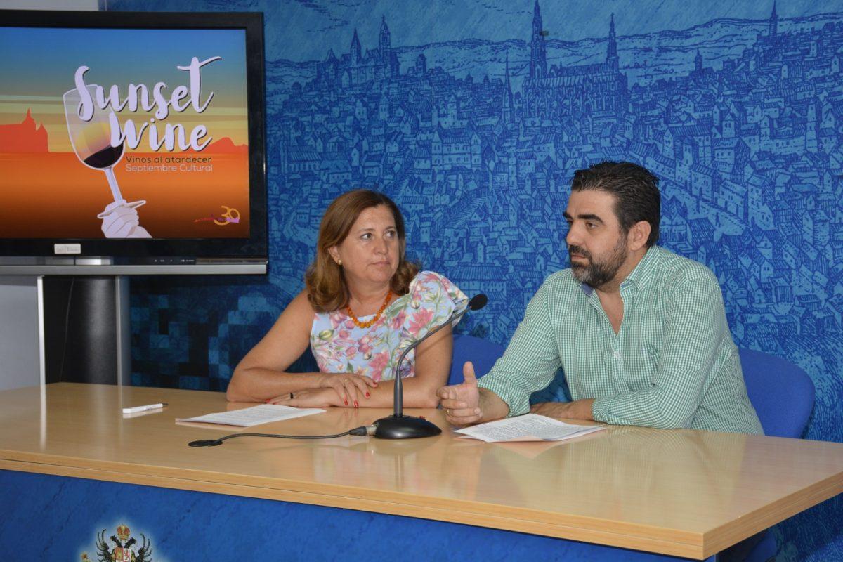 http://www.toledo.es/wp-content/uploads/2017/08/presentaci_sunset_wine-1200x800.jpg. 'Sunset Wine', nueva propuesta del Septiembre Cultural con vistas privilegiadas y degustaciones de vino para ver el atardecer