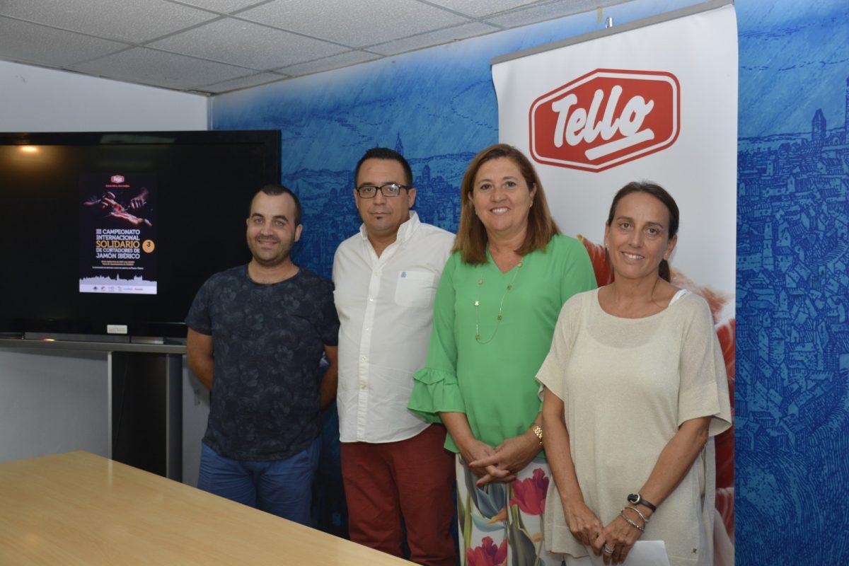 http://www.toledo.es/wp-content/uploads/2017/08/presentacio_campeonato-1200x800.jpg. El III Campeonato Internacional de Cortadores de Jamón Ibérico pondrá el broche final el sábado 30 al Septiembre Cultural