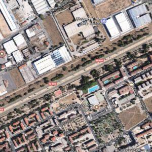 Reestablecido el tráfico y el abastecimiento de agua tras la rotura de una tubería en la N-400 junto a la rotonda de Guadarrama