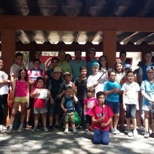 El Ayuntamiento respalda el XIV Trofeo Infantil de Pesca en el que han participado una treintena de niños y niñas de 3 a 17 años