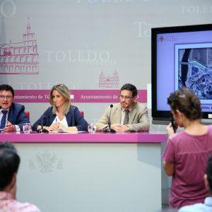 La alcaldesa presenta un importante proyecto urbanizador en Santa Bárbara con viviendas, viales, zonas verdes y aparcamientos