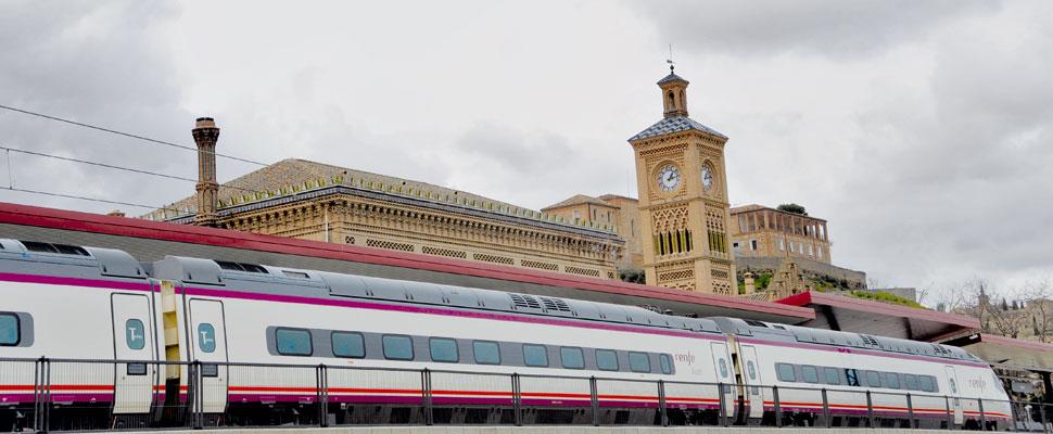 """https://www.toledo.es/wp-content/uploads/2017/09/ave.jpg. Milagros Tolón valora como """"una de las mejores cosas que le pueden pasar a la ciudad"""" que el AVE a Lisboa pare en Toledo"""