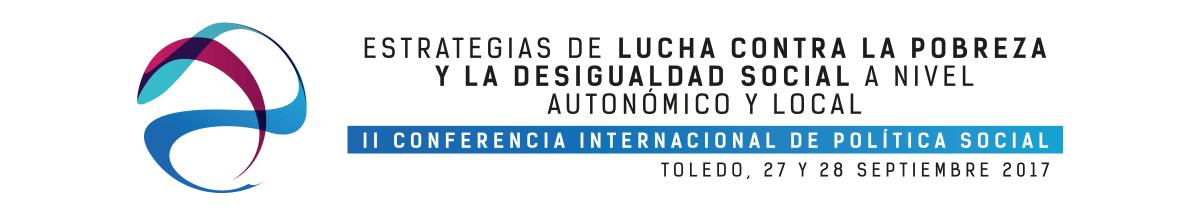 """https://www.toledo.es/wp-content/uploads/2017/09/cabecera-1200x215.png. II Conferencia Internacional de Política Social """"Estrategias de lucha contra la pobreza y la desigualdad social, a nivel autonómico y local"""""""