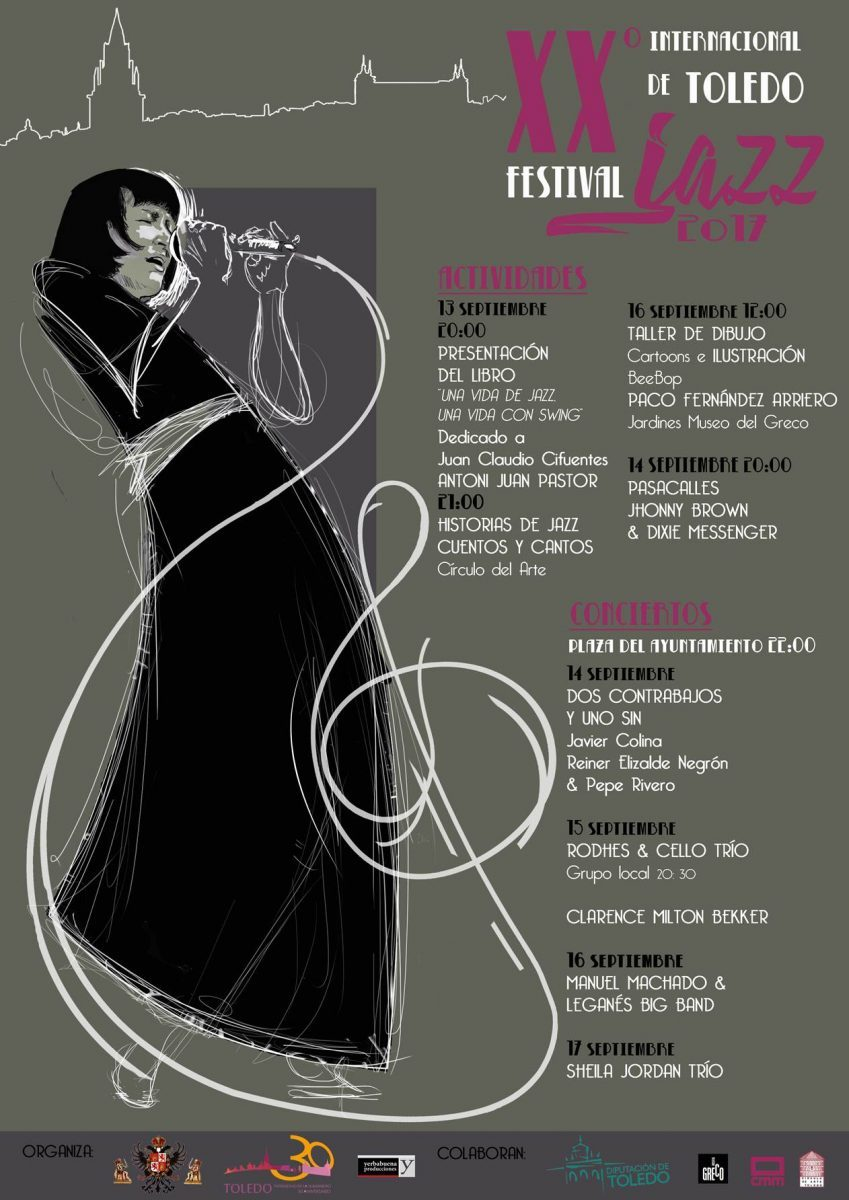 https://www.toledo.es/wp-content/uploads/2017/09/cartel-jazz-849x1200.jpg. El Festival de Jazz celebra sus 20 años de vida con la actuación estelar de Sheila Jordán y otras cinco grandes actuaciones