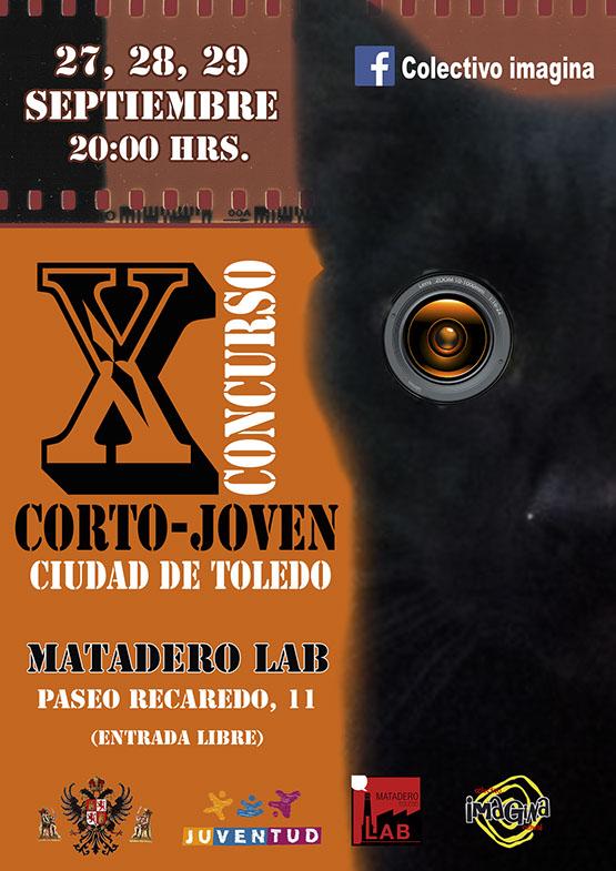 "https://www.toledo.es/wp-content/uploads/2017/09/corto-joven-toledo-x-cartel.jpg. X Concurso Cortometrajes ""CIUDAD DE TOLEDO"""