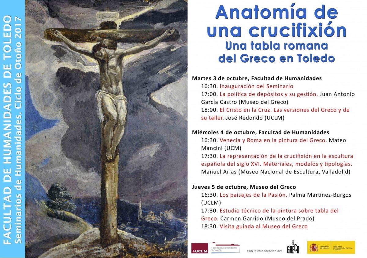https://www.toledo.es/wp-content/uploads/2017/09/crucifixion-1200x845.jpg. SEMINARIO DE HUMANIDADES: Anatomía de una crucifixión: una tabla romana del Greco en Toledo
