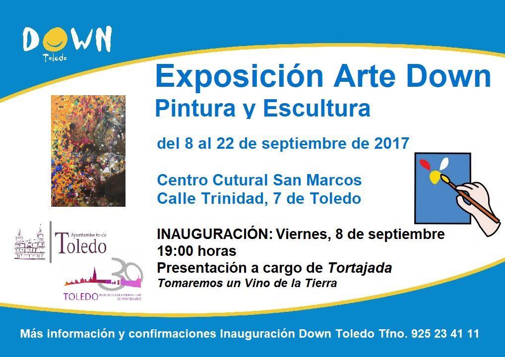 https://www.toledo.es/wp-content/uploads/2017/09/down.jpg. Inauguración Exposición Arte Down