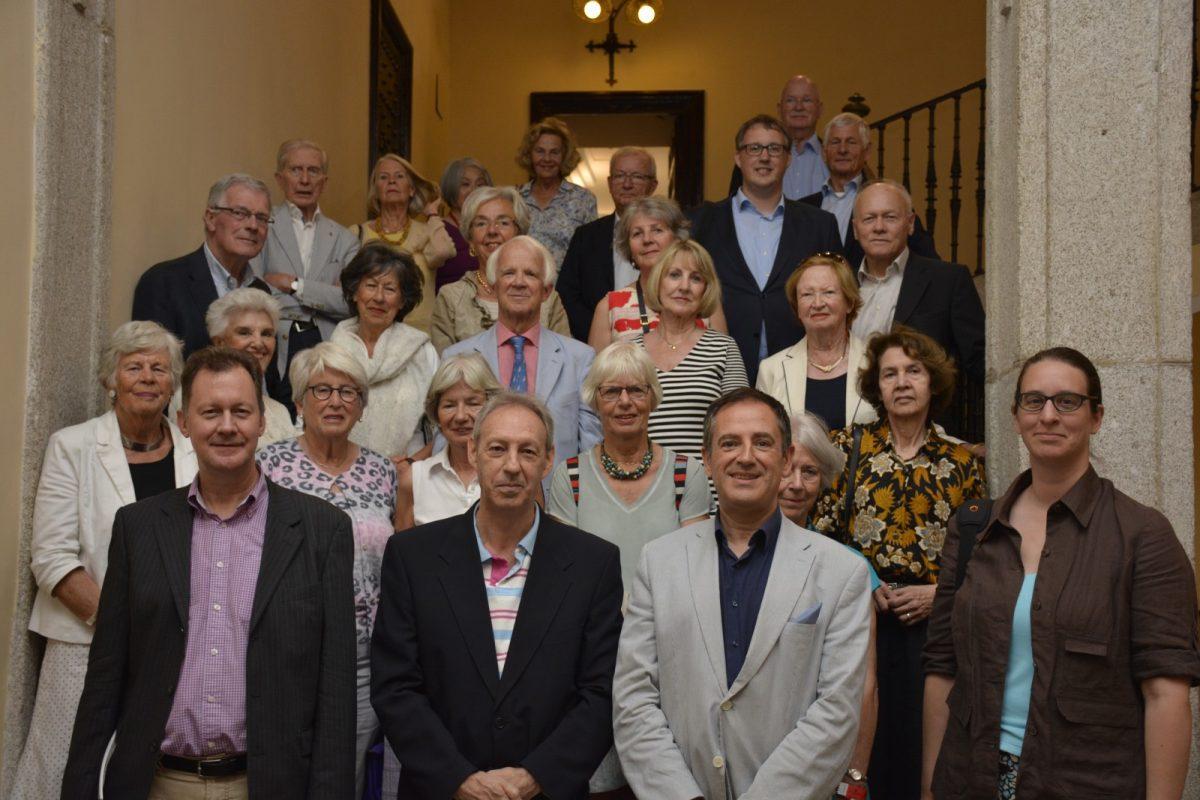 Una sociedad holandesa de la Mesa de Cultura Española visita el Ayuntamiento de Toledo