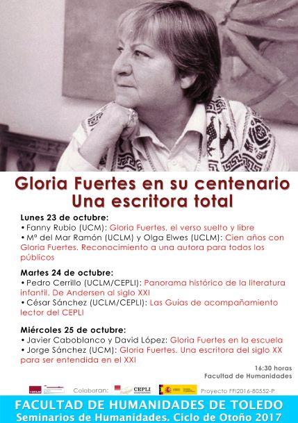 https://www.toledo.es/wp-content/uploads/2017/09/gloria-fuertes.jpg. SEMINARIO DE HUMANIDADES: Gloria Fuertes en su centenario. Una escritora total