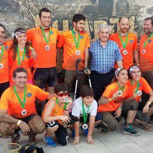 Unas 300 personas participan en la I Hard Running de Toledo en la que Francisco Majada y Rocío Sánchez han resultado vencedores