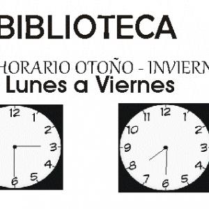 ORARIO OTOÑO – INVIERNO