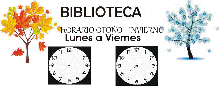 HORARIO OTOÑO – INVIERNO