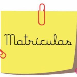 Sorteo números y franjas de horario para matrículas de nuevos alumnos grados Starter y A. Horarios por cursos (todos los cursos)
