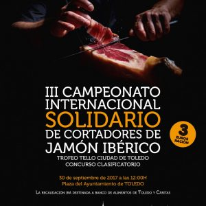 III Campeonato Internacional Solidario de Cortadores de Jamón Ibérico
