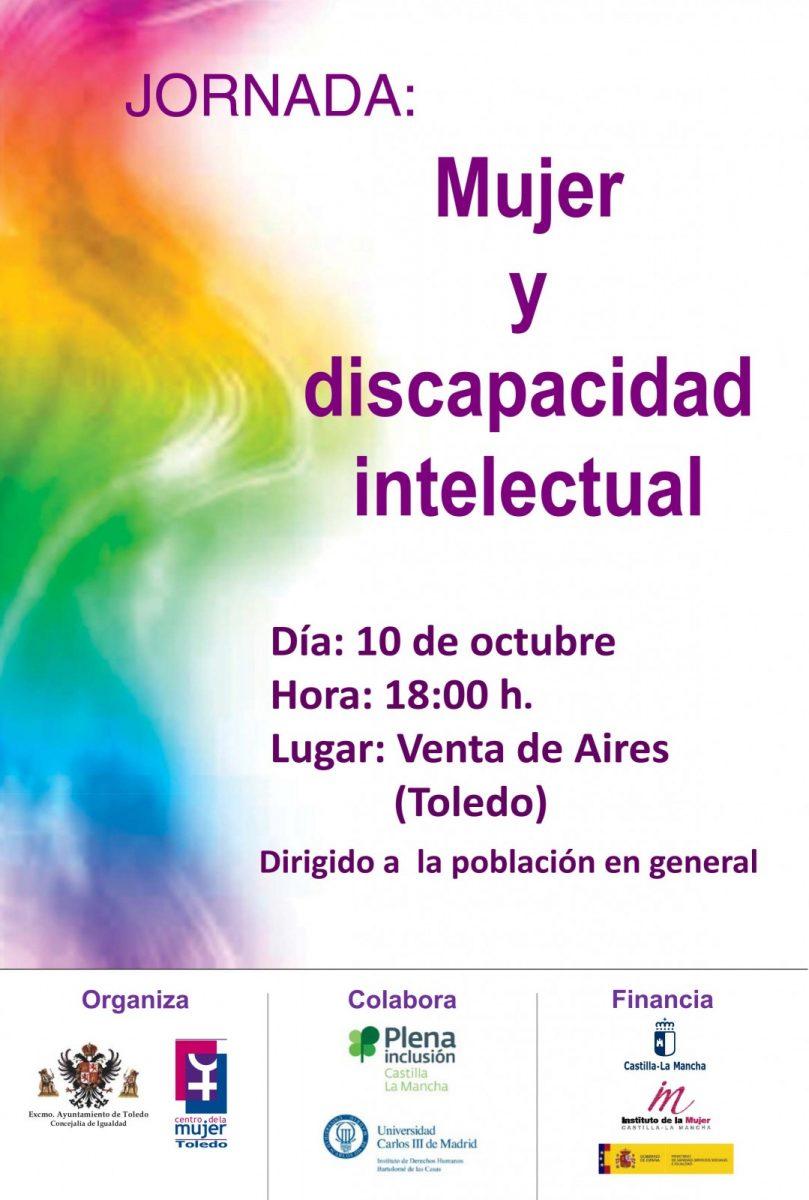 "http://www.toledo.es/wp-content/uploads/2017/10/0001-809x1200.jpg. JORNADA ""MUJER Y DISCAPACIDAD INTELECTUAL""."