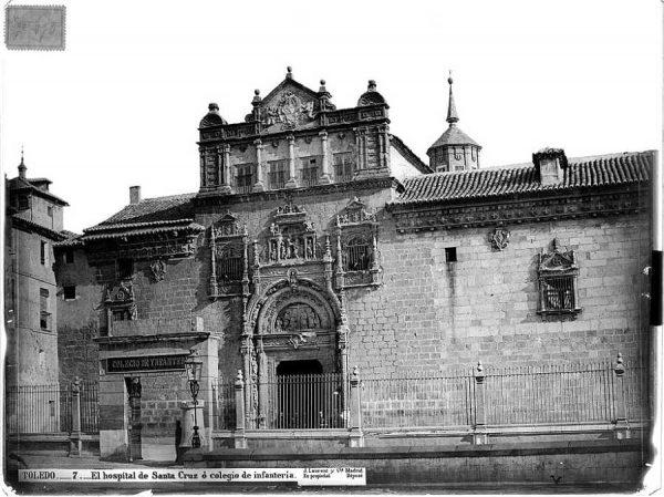 0007 - El hospital de Santa Cruz o colegio de Infantería