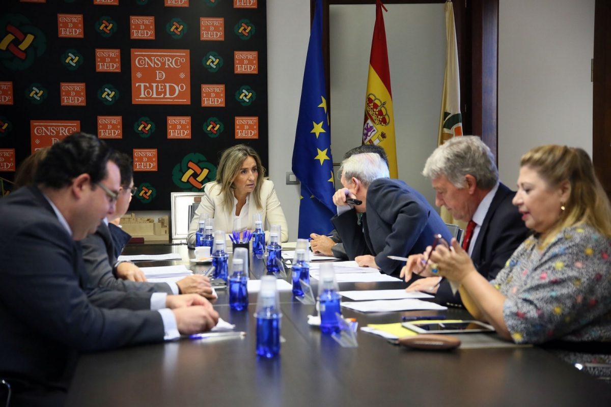 La Comisión Ejecutiva del Consorcio aprueba el proyecto del Cafetín del Teatro de Rojas y las obras de reparación de Zocodover