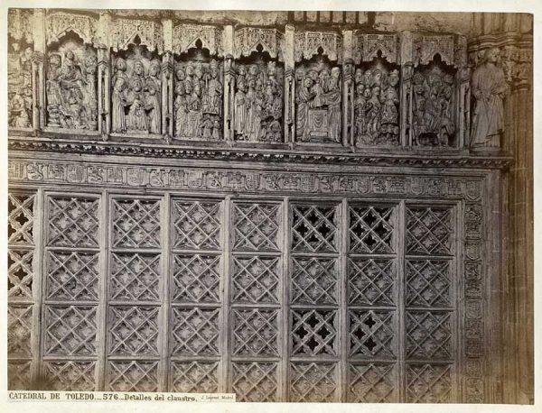 0576 - Catedral de Toledo_Detalles del claustro