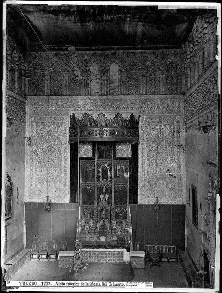 1773 - Vista interior de la iglesia del Tránsito