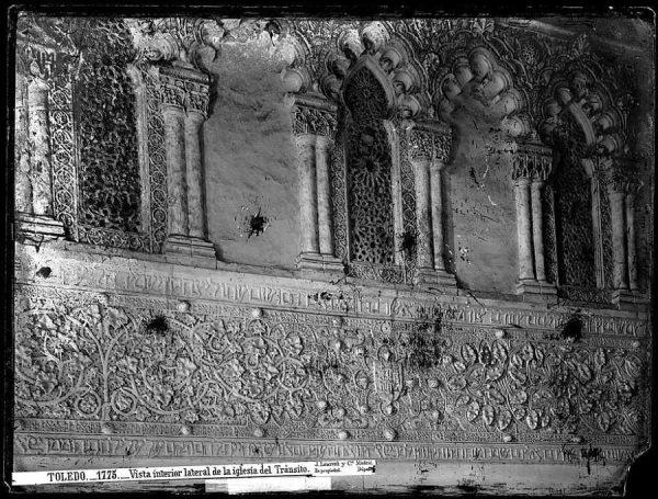1775 - Vista interior lateral de la iglesia del Tránsito_1